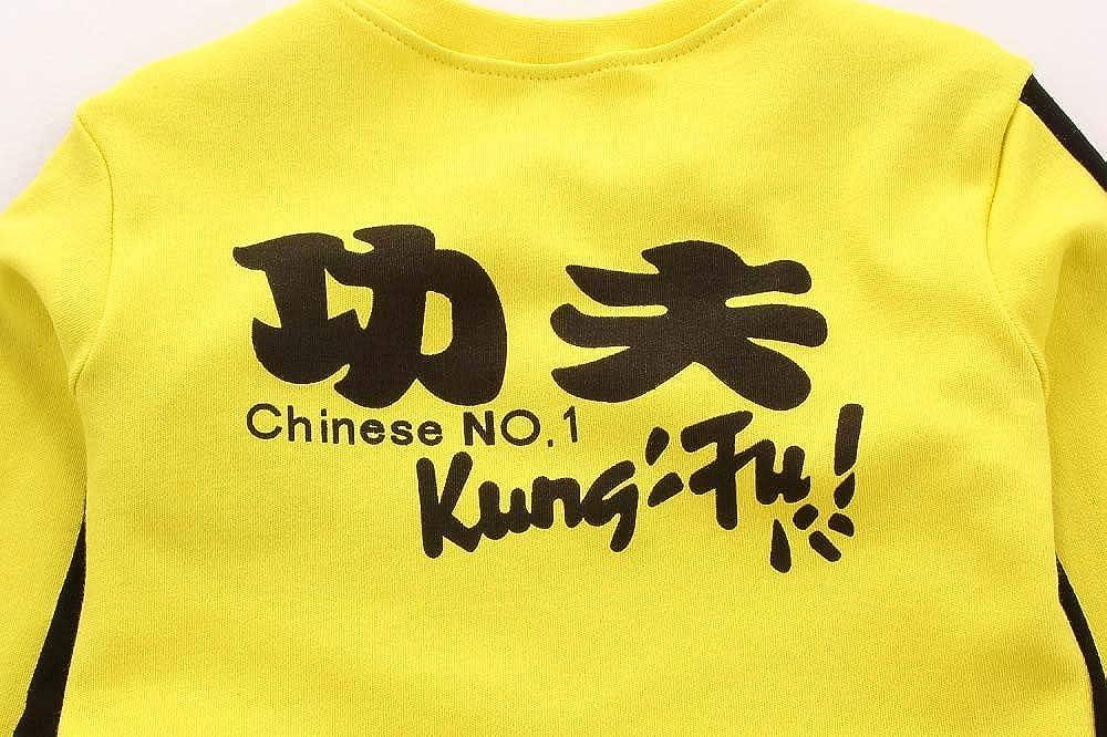 Baby Jungen Mode Kleidung Bruce Lee Style Overall Kung Fu Klassischer Strampler