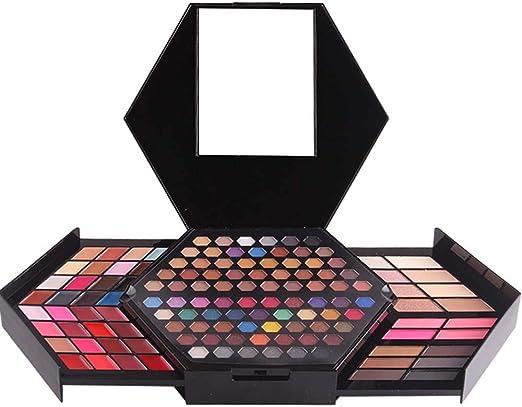 HJSMZ Paleta de Sombras de Ojos Brillantes y Mate Paleta de Sombras Belleza Paleta Maquillaje Paletas de Maquillaje,2: Amazon.es: Hogar