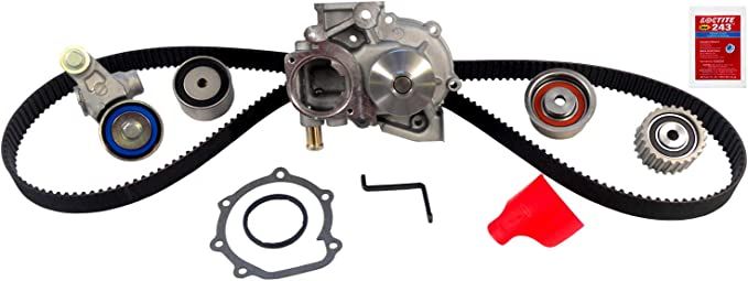ACDelco TCKWP303 Professional Timing Belt and Water Pump Kit with Idler Pulley and 2 Tensioners