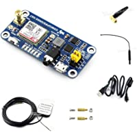 IBest Raspberry Pi gsm/GPRS/GNSS/Bluetooth Hat GPS Module Expansion Board Based on SIM868 for Raspberry Pi 2B/3B/3B+/Zero/Zero W Support Make a Call, Send Messagess, Global Position
