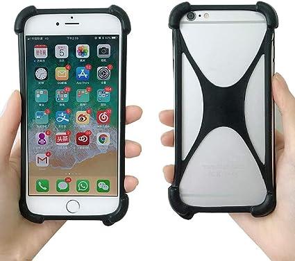 Funda Universal para iPhone XS MAX XR de Silicona Suave y elástica ...
