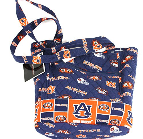 bagamore collection Auburn Scoop Tote Bag-Auburn Tigers Tote Bag-Auburn Quilted Bag