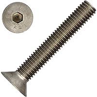 100pieza senkkopfsc Tornillos M8x 60/60con muesca hexagonal (DIN
