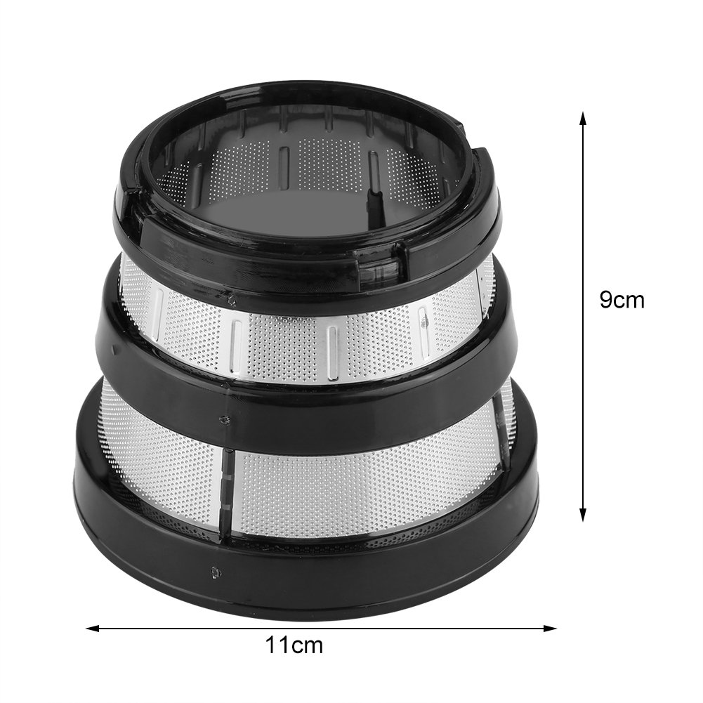 Juicer Filters,Slow Juicer Fine Mesh Screen Strainer Filter Small Hole for Hurom HH-SBF11 HU-19SGM Parts Filters Basket by Haofy (Image #5)