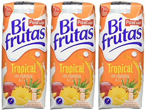 Bifrutas Tropical refresco con Leche y Zumo de Frutas - Pack de 3 x 33 cl - Total: 990 ml: Amazon.es: Amazon Pantry