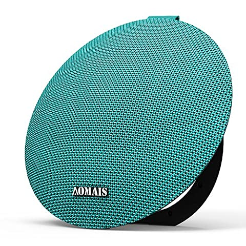AOMAIS Ball Bluetooth Speakers,Wireless Portable Bluetooth 4.2,15W Superior Sound with DSP,Stereo Pairing for Surround Sound,Waterproof Rating IPX7,For (Ultimate Android Smartphone)