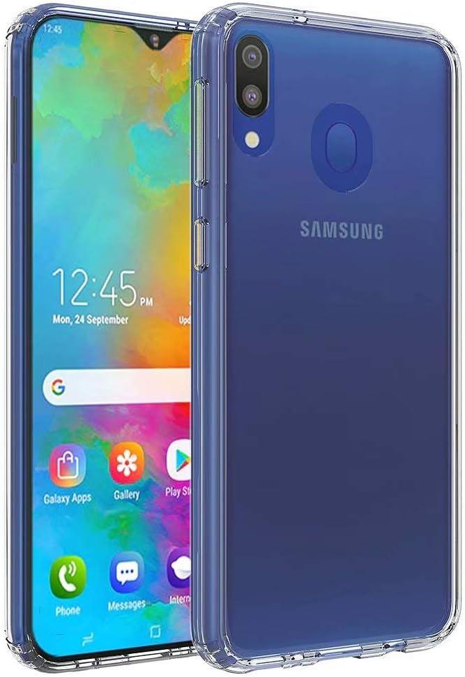Oureidoo Funda Samsung Galaxy M20, Ultra Hybrid de Esquina Parachoques con PC Duro Panel Posterior + Marco Reforzado de TPU Protección híbrida de la Gota: Amazon.es: Electrónica