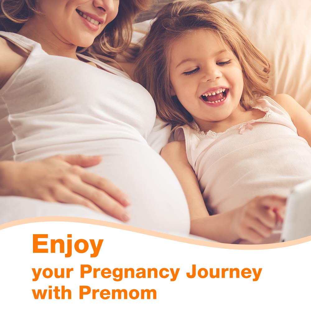 Premom 30-Pack hCG Pregnancy Test Strips -30 Individually Wrapped Pregnancy Test Kit- Over 99% Accurate and Powered by Premom Ovulation Predictor iOS and Android APP_#PMS-130 by Premom