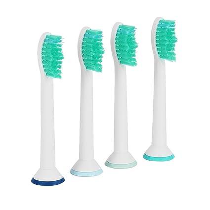 Newcomdigi 4 PCS Reemplazos de la cabeza del cepillo de dientes cepillo compatibles con cepillos de