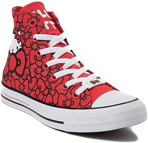 Converse X Hello Kitty Youth Chuck Taylor All Star Bows Red 362996F