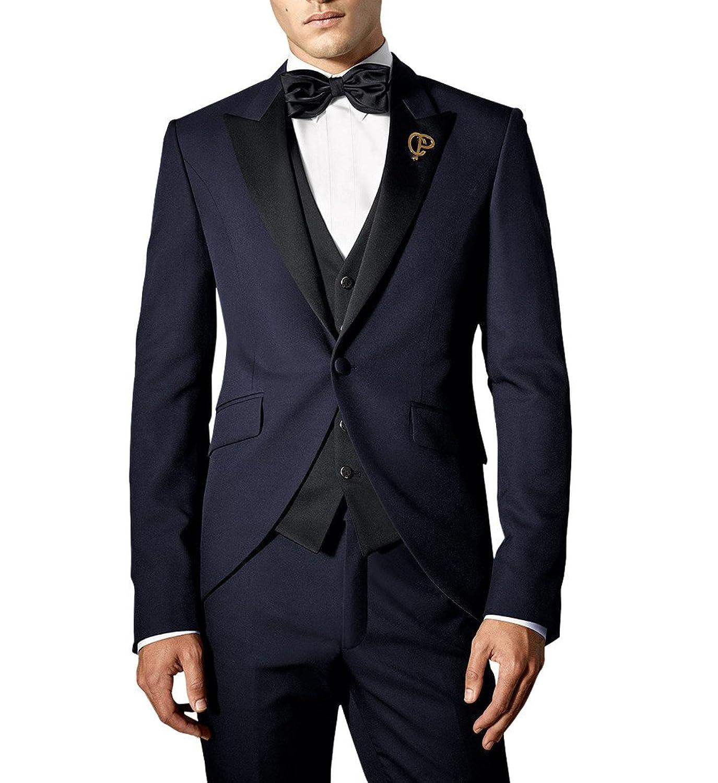 28f3d575f Suit Me 3 pieces pour homme costume de mariage de broderie partie ...