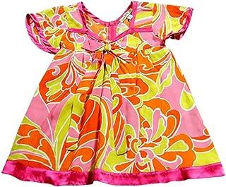product image for Little Mass - Little Girls Short Sleeve Rayon Dress
