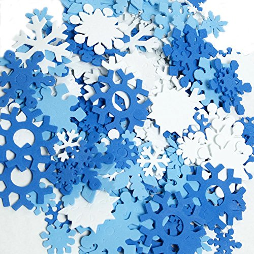 Foam Snowflake Set]()