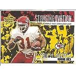 d97f9d5b437 Priest Holmes Kansas City Chiefs 2002 Leaf Rookies and Stars Stanfing  Ovation.
