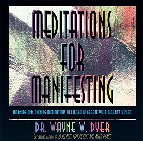 MEDITATIONS FOR MANIFESTING 1 CD
