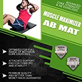 Ab-Mat-Full-Range-of-Motion-Abdominal-Core-Trainer-Providing-Complete-Sit-Up-Workout-Anti-Slip-Pad-for-Comfort-Back-Support-and-Tailbone-Protection-Survival-and-Cross