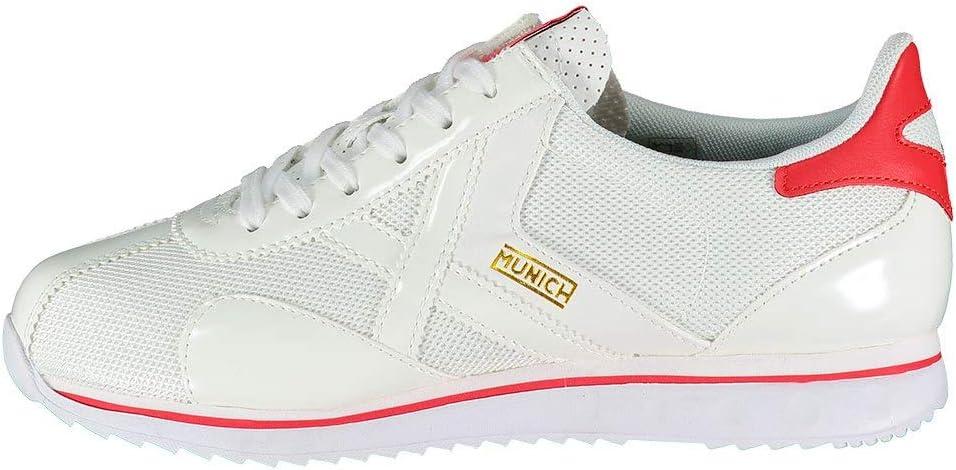Munich Sapporo 76 Blanco Zapatillas para Hombre: Amazon.es: Zapatos y complementos