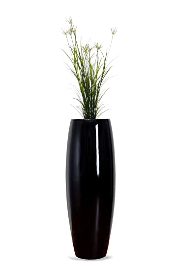 Exklusive Pflanzkübel pflanzkübel pflanzgefäß blumenkübel exklusiv fiberglas schwarz