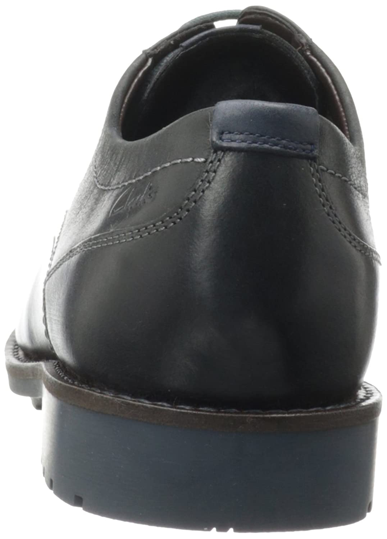 Amazon.com | Clarks Men's Garnet Walk Oxford, Black Leather, 11.5 M US |  Oxfords