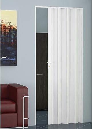 Puerta de fuelle tamaño estándar, varios colores, en PVC, se puede reducir en altura y anchura.: Amazon.es: Bricolaje y herramientas