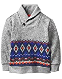 Product review for Crazy 8 Boys' Patterned Shawl Collar Sweater