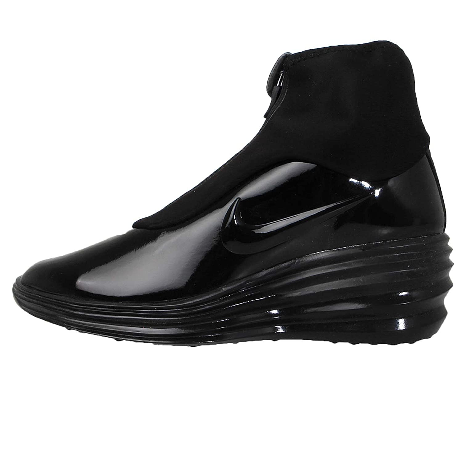 best website 66c3e a0c97 NIKE Lunar Elite Sky Hi Sneaker Boot Black Womens Black Size  5.5   Amazon.co.uk  Shoes   Bags