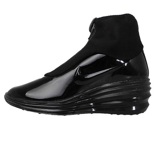 best service 7a8a8 36f36 Nike Lunarelite Sky Hi Snkrbt Womens Black 684949-001 (SIZE  9.5)