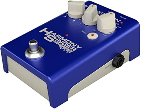 side facing tc-helicon harmony singer vocal processor