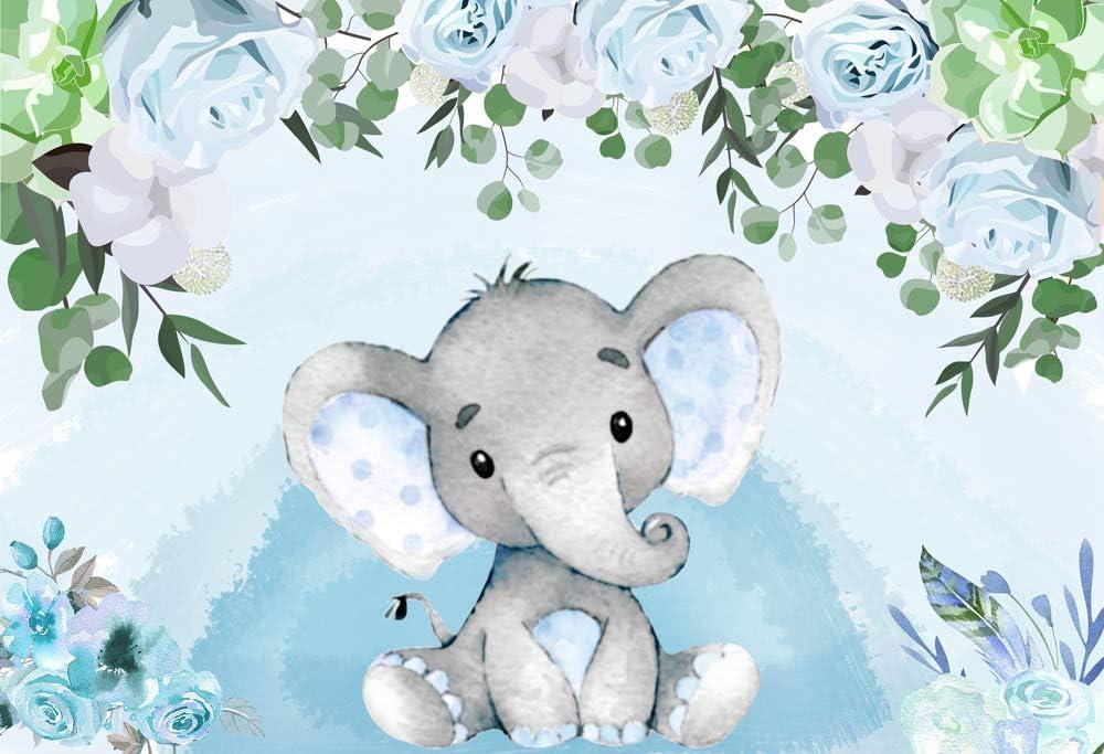 Nivius Photo Blauer Hintergrund Für Babyparty Kamera