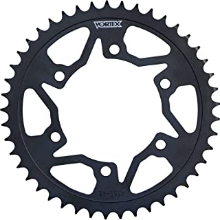 product image for Vortex Steel Rear Sprocket (520 / 40T) (Black) Compatible with 11-13 Honda CBR250R