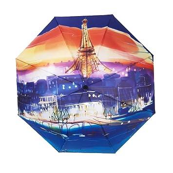 SURBLUE UV sombrilla paraguas, UPF 50 + anti-UV resistente al agua y resistente