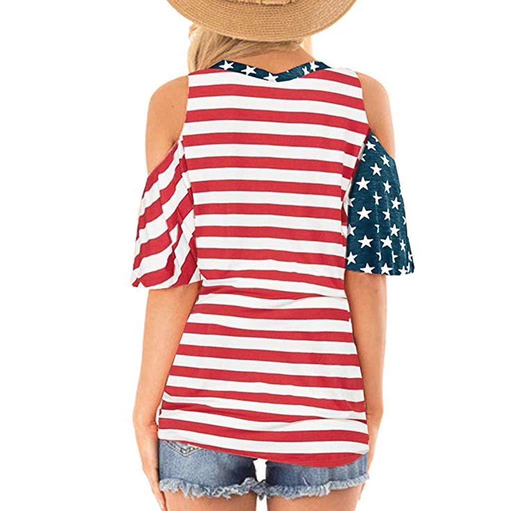 Amazon.com: Camisetas de manga corta para mujer, con ...