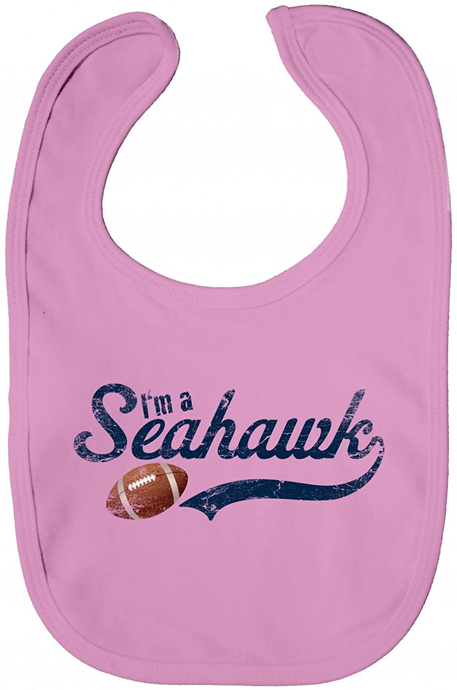 Shirt Happenz Im a Seahawk Babybib #1 Football Super Bowl USA American Sports
