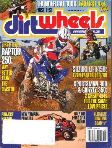 (Dirt Wheels Dirtwheels Magazine, Volume 27, Number 1 (November, 2007))