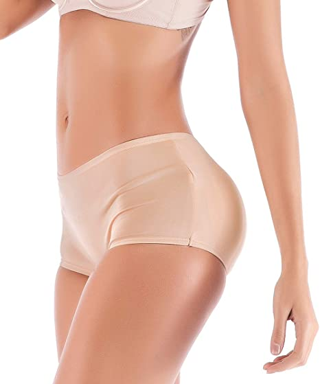 412aedd4b380e Image Unavailable. Image not available for. Color  FUT Womens Fake Buttock  Briefs Butt Lifter Padded Control Panties Hip Enhancer Underwear Shapewear  ...