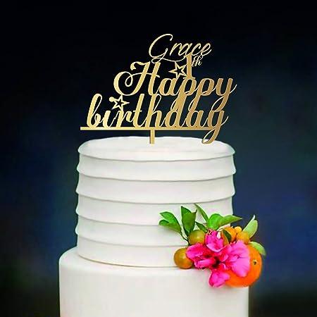 Kiskistonite - Decoración para tarta (1 año, personalizable ...