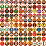 Two Rivers Coffee, Tea, Hot Chocolate and Cider, Bit Of Everything Sampler, Compatible with Keurig K-Cup Brewers, Variety Pack Pods, 100 Count