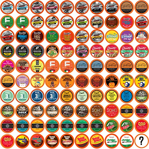 Two Rivers Bit of Everything Single-Cup Sampler Pack for Keurig K-Cup Brewers, 100 Count (Best K Cup Cocoa)
