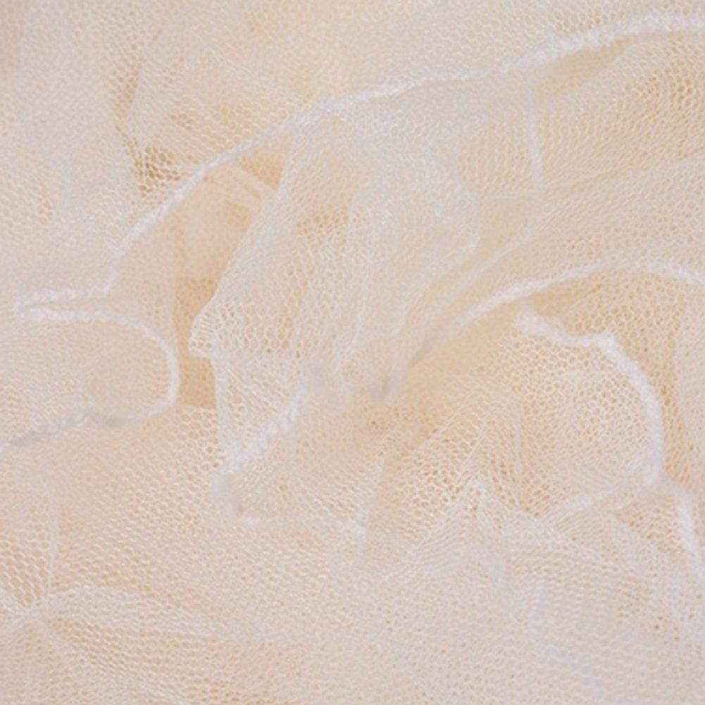 Grand Moustiquaire en Forme de Caisson Int/érieur et Ext/érieur AIHOME Moustiquaire de lit Baldaquin Polyester Moustiquaire pour Lits Simples et Doubles