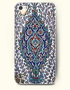 OOFIT Apple iphone 6 4.7 Case Moroccan Pattern ( Navy and Slate Blue Floral Pattern )