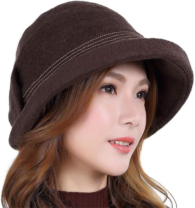 WEIYONGXING-MZ Sombreros y Gorras para Mujer Sombrero Elegante ...