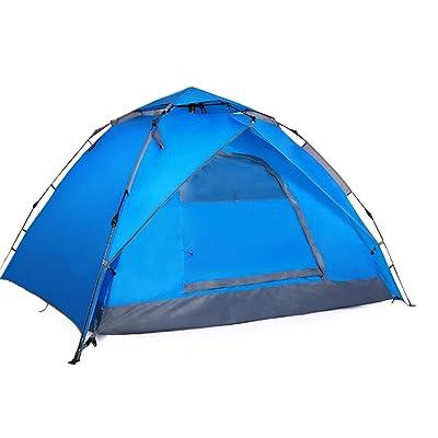 Personnes CHENGXIAOXUAN 3-4 Vitesse Automatique Tente Ouverte,Blue-200*180