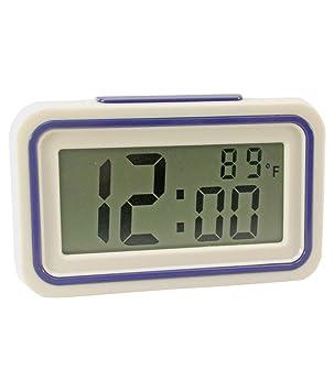 Hablando Reloj despertador digital y la temperatura * Ideal para la Ciegos/Baja Vision *: Amazon.es: Electrónica