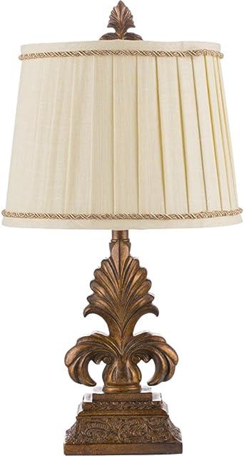 Lámpara de Escritorio LED Vintage Idyllic Resin Lámpara de Mesa ...