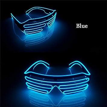 2020 am besten bewertet neuesten Exklusive Angebote Y-XM Leuchten Sie Blinkende Verschluss-Neonravegläser EL ...