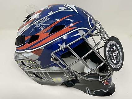 Amazon Com Braden Holtby Autographed Washington Capitals Goalie Mask Fanatics Autographed Nhl Helmets And Masks Sports Collectibles