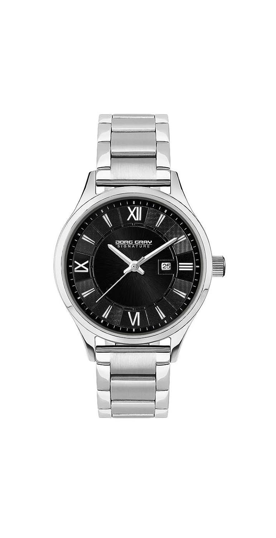 Jorg Gray Damen-Armbanduhr XS Analog Quarz Edelstahl JGS2581B