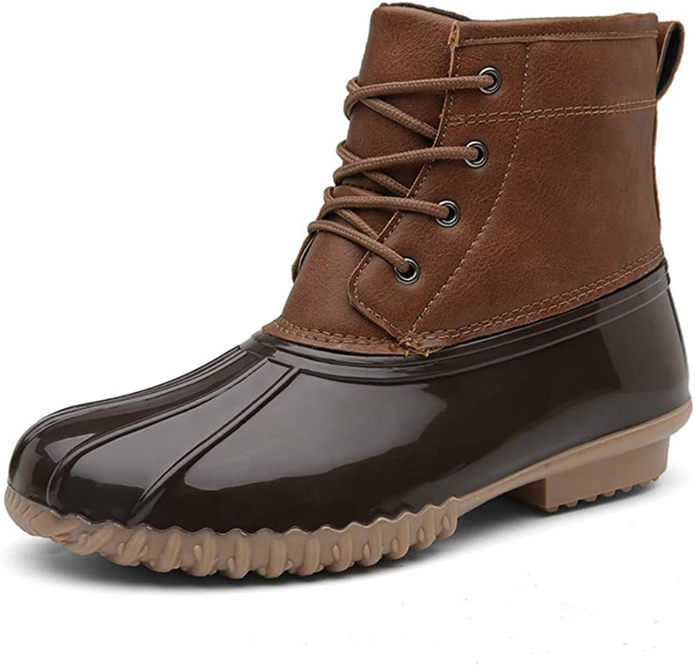 HSINYA Womens Duck Boots Slip On