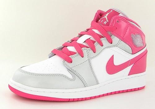 Nike [555112-109] AIR Jordan AJ 1 MID G