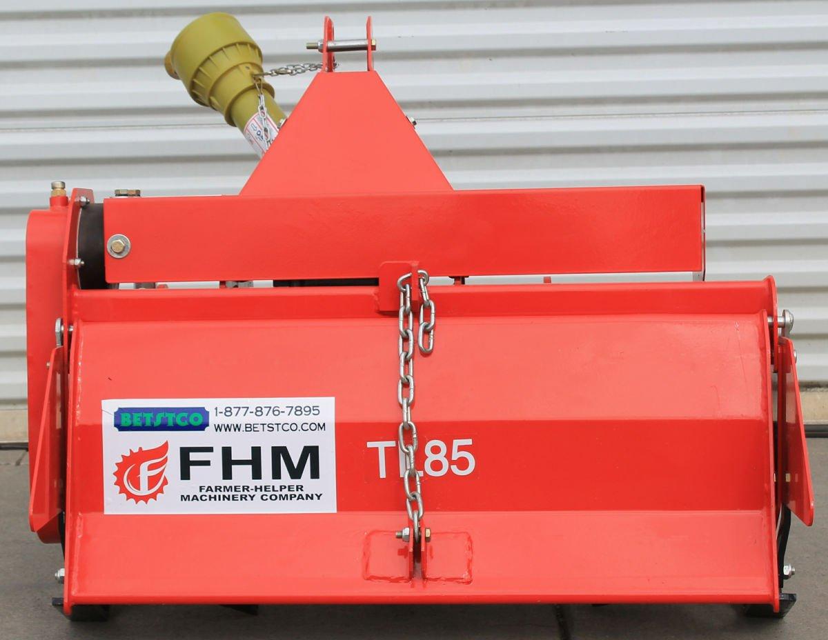 Value Leader 33'' Tiller Cat.I 3pt 14+hp (FH-TL85) ~Adjustable Offset & SlipClutch Driveline by Farmer-Helper (Image #2)